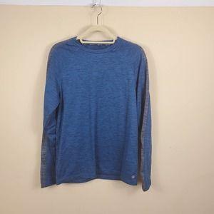 4/$25 GAIAM Fleece Lined Long Sleeve Tee Size M